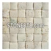 Yellow Mosaic, Beige Mosaic, Travertine Mosaic