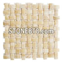 Yellow Mosaic, Beige Mosaic, Yellow Mosaic Pattern