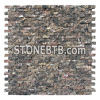 Mosaic Wall Tiles, Mosaic Walling, Dark Mosaic