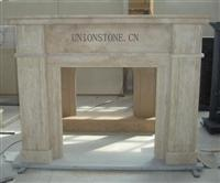 Marble Fireplace Mantel,Fireplace Surround,Fireplace Carving