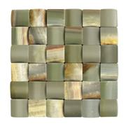 Green Travertine Mosaic, Green Travertine Pattern, China Mosaic Pattern