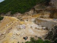 Quarry of Golden Marble
