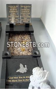 tombstone and monument