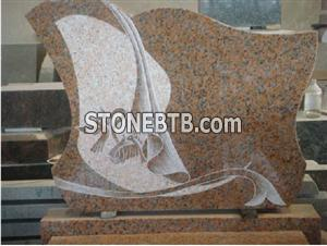 G562 Maple Red Headstone
