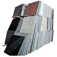 Granite tiles and slabs