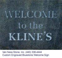 Bluestone Sign