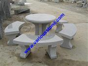 stone bench&table