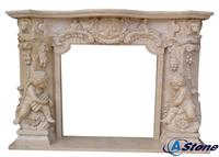 Stone Fire Place Mantel, Marble Fire Place