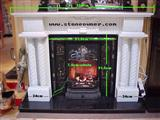 Sell marble fireplace mantel