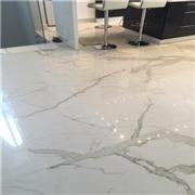 China Goods Newly Design Imported Unique Oriental White Marble Floor Panel Tile