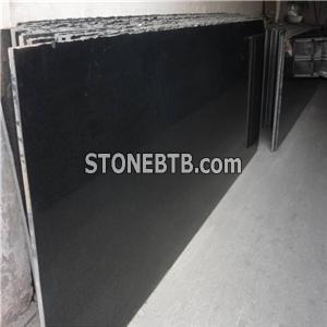 Beautiful Natural Stone Granite Slab Zhangpu Black Color Granite Kitchen Sinks And Countertop Vanity Tops