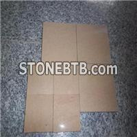 High Quality Natural Stone Yellow Wooden Sandstone Sculpture Slabs Blocks For Sale