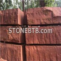 Veined Purple Color Sandstone For Pavers Tile And Cube