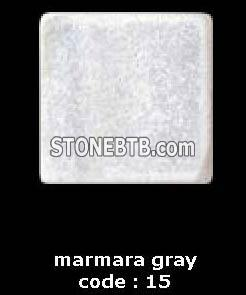 marmara gray travertine of tiles