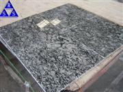 China Spray white granite tile