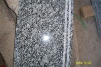 surf white granite staircase