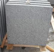 dark gray granite G654 flamed tile