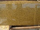 dyed yellow granite slab