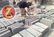 Roadway stone red color