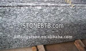 Wave White granite slabs