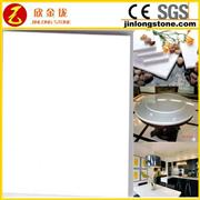 Absolute White Quartz Countertop Solid Surface
