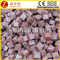 Red Cubic Stone Shouning Red