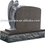 natural granite tombstone European style