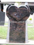 European granite carving headstone