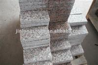 Flamed red granite paving stone tiles