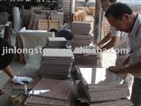 yongfu red granite tiles