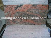 granite tiles in chinese muticolor red