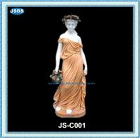 White Marble Lady Statue