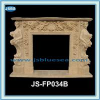 Arch Marble Fireplace Mantel