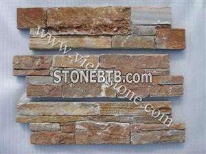 cement slate nature culture stone  Stacked wall Panels