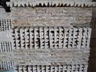 beige slate mountain nature culture stone  Stacked wall Panels