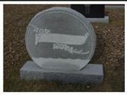 Tombstone Engraving, Granite Headstone