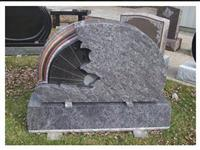 Granite Tombstone, Monument Engraving