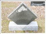 tombstone engraving granite monument