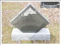 Tombstone Engraving, Granite Monument