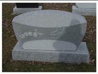 Granite Gravestone, European Headstone