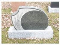 Granite Headstone, China Black Tombstone