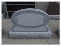 Granite Tombstone, European Headstone, Black Monument