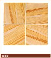 Teak Finish Natural Sand Stone