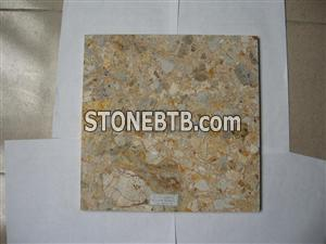 Yellow Marble Multicolor