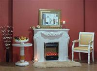 Marble Fireplace, Fireplace Mantel