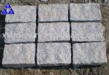 G603 Padang crystal light grey granite cubic stone