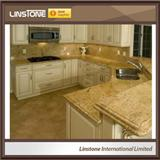 Tiger Skin Yellow Granite Kitchen Countertops