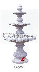 Fountain, two or three layer are available