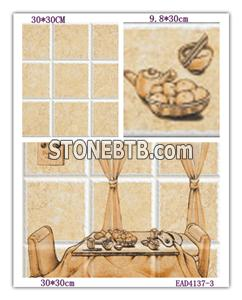 Ceramic tiles for the bathroom and kitchen