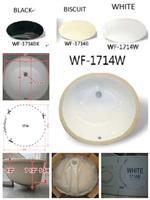 Ceramic Undermount Bowl 17